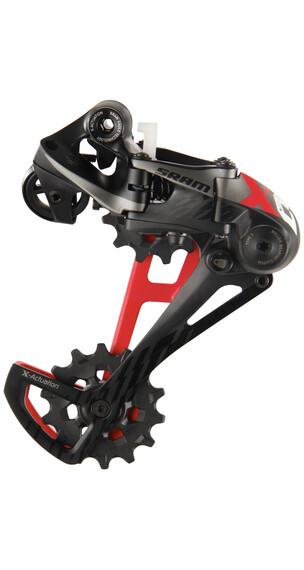 SRAM X01 Eagle Type 3.0 Schaltwerk 12-fach schwarz-rot